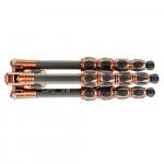 3 Legged Thing Equinox LEO Trípode de Fibra de Carbono profesional para viajeros (Bronce / Gris)