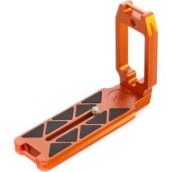 3 Legged Thing QR11-LC Bracket Arca en L con conector dual para correas (Naranja)
