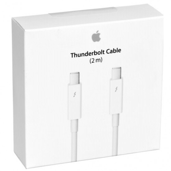 Apple MD861LL Cable Thunderbolt 2 MTS en color blanco