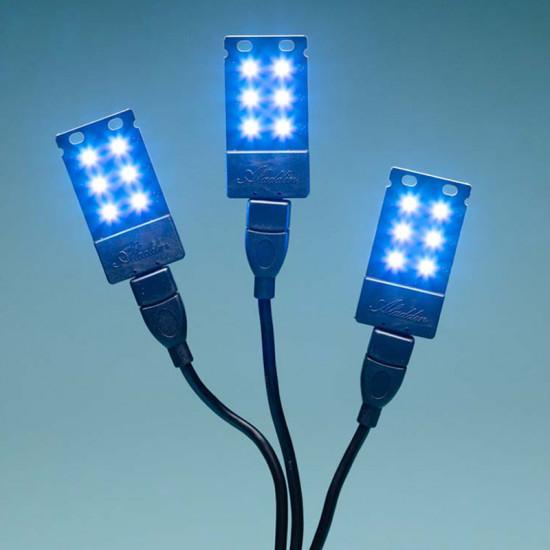 Aladdin U Lite Color Luz LED 7 colores 1.2watts USB-A