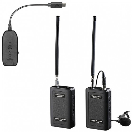 Saramonic Lavalier omnidireccional Inalámbrico con interface USB Audio-Technica