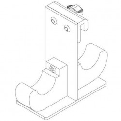 Backstage Mag C-Stand Holder Set para 2 stands