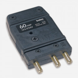 Bates 60M Conector Male Stage PIn  60A / 125A