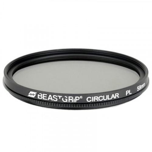 Beastgrip Filtro 58mm Polarizador Circular Polarizer