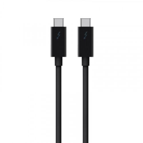 Belkin Cable Thunderbolt 3  5K 40Gbps 50cm en color negro
