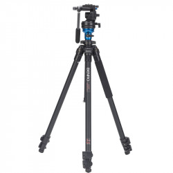 Benro A1575 Tripode de Video con cabezal fluido S2 2,5Kg cap.