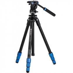 Benro TSL08AS2CSH Tripode de Video Slim con cabezal fluido S2 2,5Kg cap.