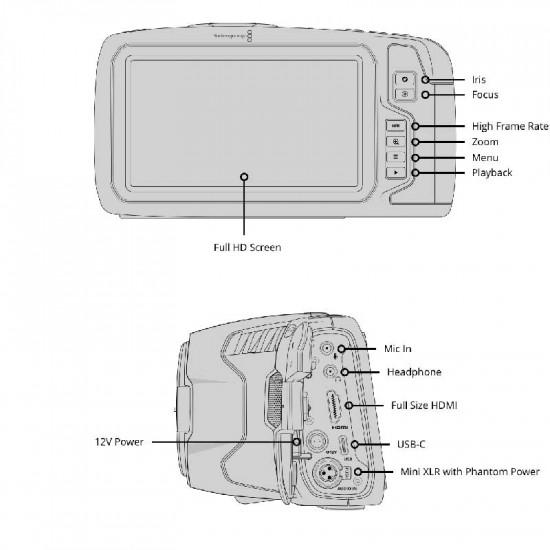 Blackmagic Design Pocket 6K Cinema Camera  (montura EF) RAW