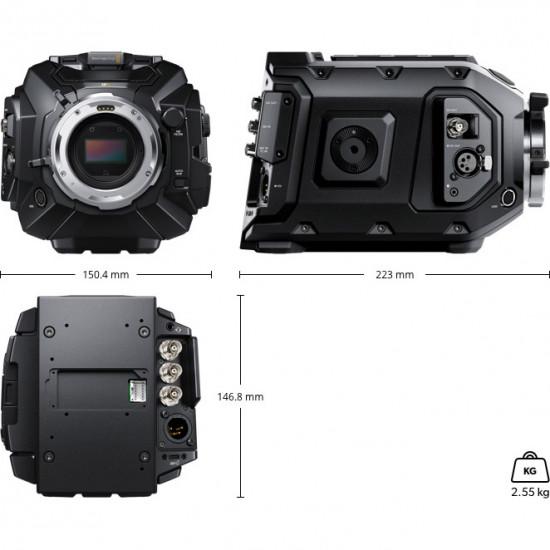 Blackmagic Design 12K URSA Mini Digital Cinema Camera con Montura PL (Sólo Cuerpo)