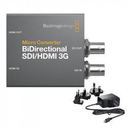 Blackmagic Design Micro Convertidor Bidireccional SDI/HDMI 3G con PS
