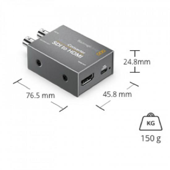 Blackmagic Design Micro Convertidor de HDMI a SDI (2) 3Gb/s