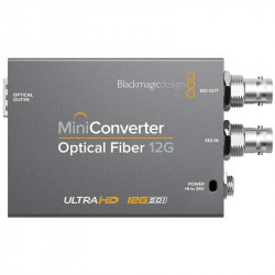 Blackmagic Design Fibra Óptica Convertidor 12G-SDI
