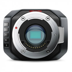 Blackmagic Micro Studio Camera 4K con montura Micro 4/3