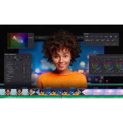 Blackmagic DaVinci Resolve 17 Licencia (Tarjeta de Activación) Studio compatible con upgrade