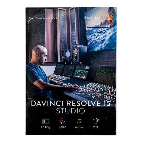 Blackmagic DaVinci Resolve Licencia (Tarjeta de Activación) 15 Studio compatible con upgrade