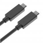 Cable Thunderbolt 3 / USB-C de 1 metro en color negro 100W 40Gpbs 5K