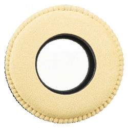 Blue Star 2010U11 Round Extra Small de Microfibra Eyecushion Natural