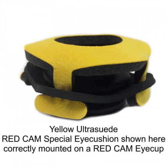 Blue Star 3011-03  RED Cam Special de Ultrasuede Eyecushion Rojo
