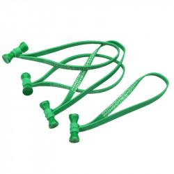 Bongo Ties Grip para Organizar Cables Verde Pack de 10