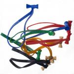 Bongo Ties Colors Grip para Organizar Cables Pack de 10