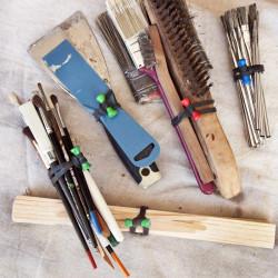 Bongo Ties TreeFrog Grip para Organizar Cables Pack de 10