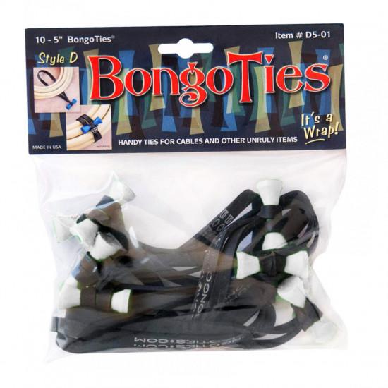 Bongo Ties Moondoggie Grip para Organizar Cables Pack de 10 (blanco)