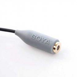 Boya BY-CIP2 Adaptador 3.5mm de TRS a TRRS smartphones