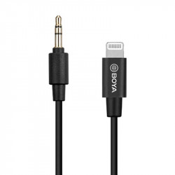 Boya BY-K1 Adaptador 3.5mm de TRS a Lighting (iphone/ipad)