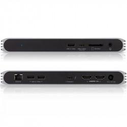 CalDigit Dock USB-C a 2 HDMI 4K 60Hz