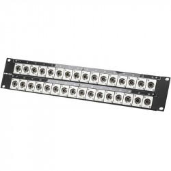 Canare 322U-BJRUK Patch Panel de rack con 32 BNC 12G-SDI 4K