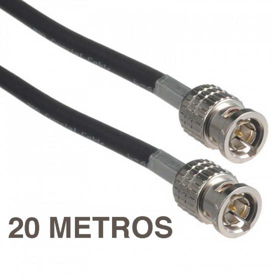 Canare L-4CFB 20 Metros Digital Video Cable Coaxiale Low Loss 3G-SDI