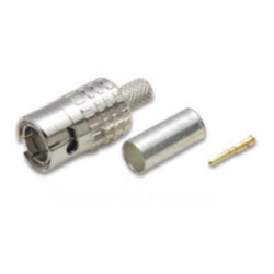 Canare MBCP-C4F Conector Slim 3GHz 75 Ohm para Cable Canare L-4CFB
