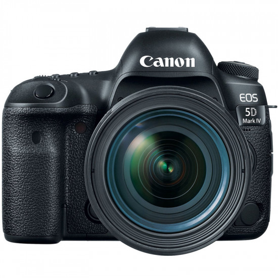 Canon 5D Mark IV Cámara DSLR con 24-70mm f/4L