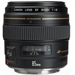 Canon Lente EF 85mm f/1.8 Teleobjetivo USM