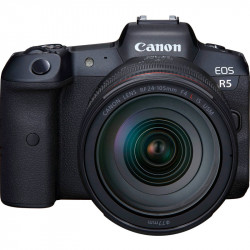 Canon EOS R5 Cámara Mirrorless con RP 24-105mm f/4L 45 MP RAW 8K