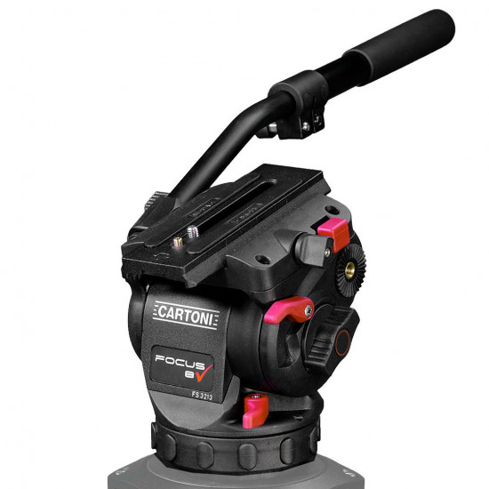 Cartoni HF0800 Cabezal Focus 8 hasta 8 Kg.