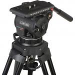 """Cartoni Kit Video de cabezal Focus 12 con trípode de Fibra de Carbono de 2 Secciones con sistema """"SDS"""" para despliegue rápido"""