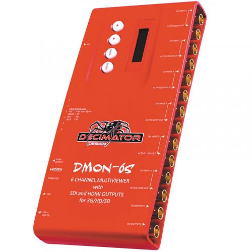 Decimator DMON-6S  MultiViewer de 1 a 6 / 6 a 1 SDI / HDMI