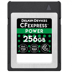 Delkin Devices DCFX1-256 Tarjeta CFexpress 256GB 1730MB Lectura / 1540MB escritura