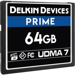 Delkin Devices CompactFlash PRIME UDMA 7 de 64GB