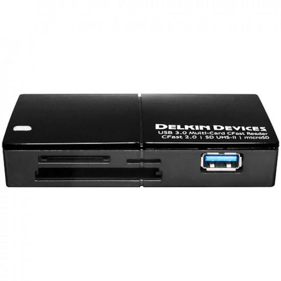 Delkin Devices DDREADER-48 Lector múltiples ranuras USB 3.1