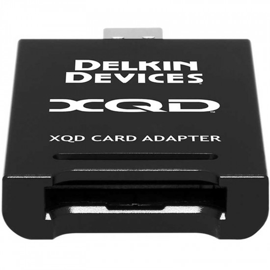 Delkin Devices Lector XQD Interfaz USB 3.1 Gen 1 tipo A