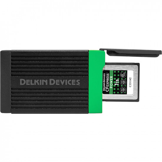 Delkin Devices DDREADER-54 Lector CFexpress USB-C 3.2 hasta 10 Gb/s