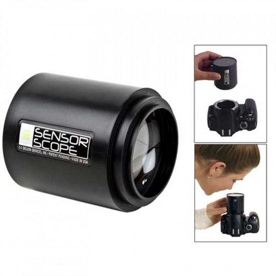 Delkin Devices SensorScope System DSLR Kit portatil para limpieza