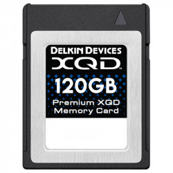 Delkin Devices XQD Tarjeta 120GB Premium