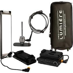 DMG LUMIERE MINI Switch KIT 1 AC y V-Mount con driver, montura Lolly Pop y Mini-Rigid Bag
