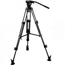 E-Image EG03AA Cabezal Fluido GH03 + Trípode AT7402A  Cap 5kg.