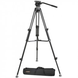 E-Image EK610 Trípode compacto profesional con cabezal fluido cap. 3kg