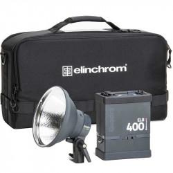 Elinchrom Kit ELB 400 Hi-Sync To Go con bateria de litio