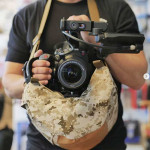 FILMA! Baby Saddlebag Army Arena multi propósito para cámaras compactas